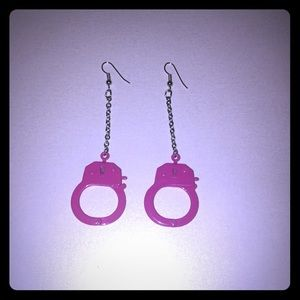 Jewelry - 🆕 Handcuff Dangle Earrings